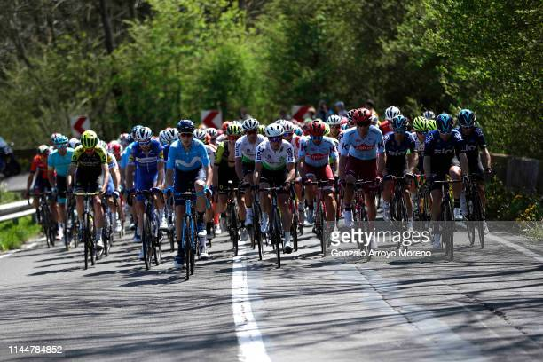 Benjamin King of Australia and Team Dimension Data / David de la Cruz of Spain and Team Sky / Willem Jakobus Smit of South Africa and Team...