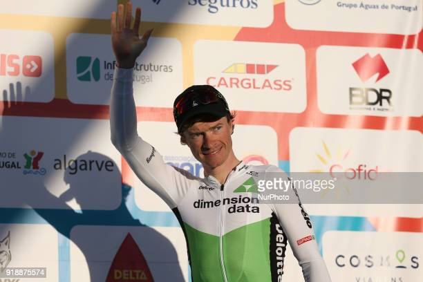 Benjamin King of Team Dimension Data after the 2nd stage of the cycling Tour of Algarve between Sagres and Alto do Foia on February 15 2018