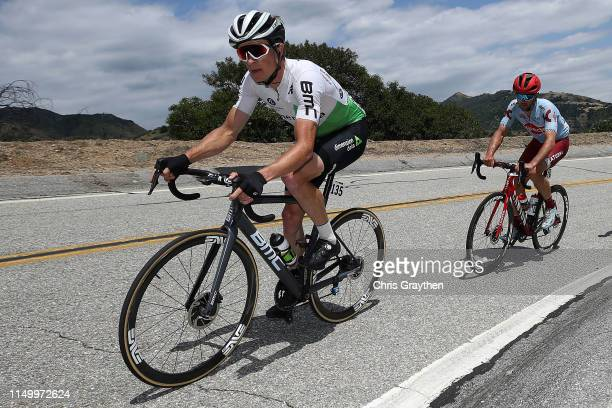 Benjamin King of The United States and Team Dimension Data / during the 14th Amgen Tour of California 2019 Stage 6 a 1275km stage from Ontario to...
