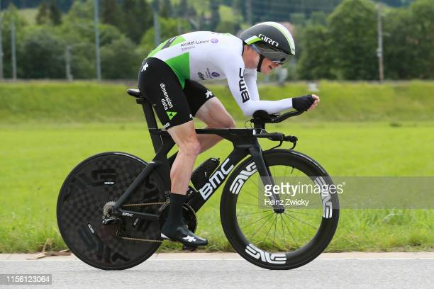 Benjamin King of The United States and Team Dimension Data / during the 83rd Tour of Switzerland Stage 1 a 95km Individual Time Trial from Langnau im...