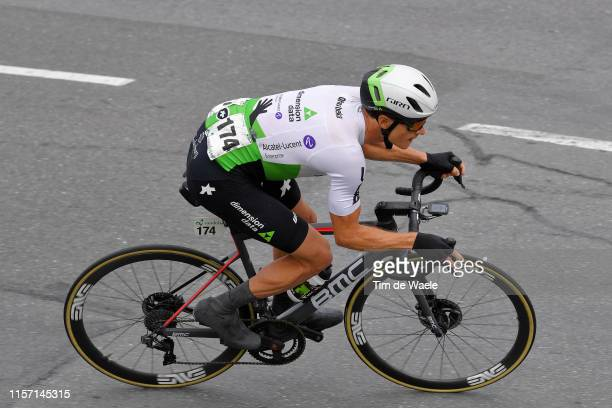 Benjamin King of The United States and Team Dimension Data / during the 83rd Tour of Switzerland Stage 6 a 1202km stage from Einsiedeln to...