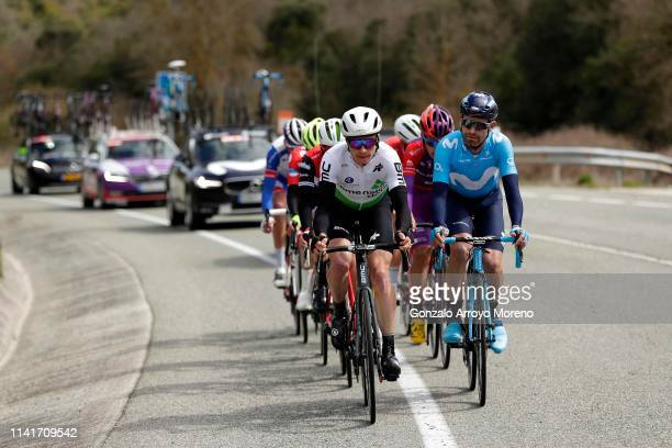 Benjamin King of The United States and Team Dimension Data / Jose Joaquin Rojas of Spain and Movistar Team / during the 59th Itzulia-Vuelta Ciclista...