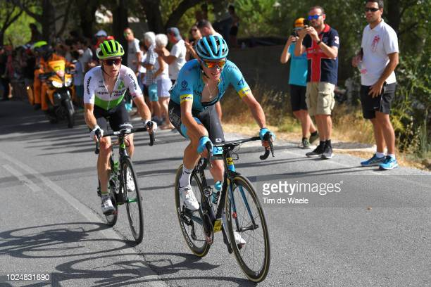 Benjamin King of The United States and Team Dimension Data / Nikita Stalnov of Kazakhstan and Astana Pro Team / during the 73rd Tour of Spain 2018,...
