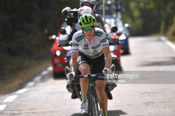 Benjamin King of The United States and Team Dimension Data White Combined Jersey / during the 73rd Tour of Spain 2018 Stage 9 a 2008km stage from...