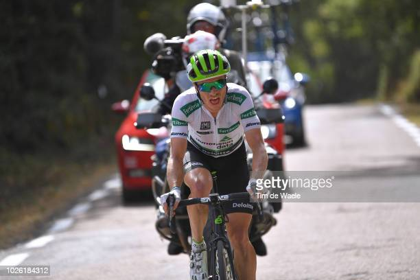 Benjamin King of The United States and Team Dimension Data White Combined Jersey / during the 73rd Tour of Spain 2018, Stage 9 a 200,8km stage from...