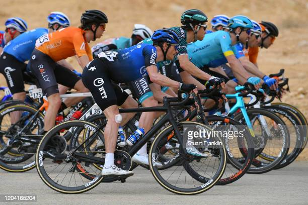 Benjamin King of The United States and Team NTT Pro Cycling / Peloton / during the 1st Saudi Tour 2020, Stage 2 a 187km stage from Sadus Castle to Al...