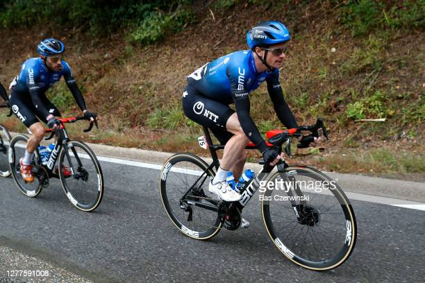 Benjamin King of United States and NTT Pro Cycling Team / during the 84th La Fleche Wallonne 2020, Men Elite a 202km stage from Herve to Mur de Huy /...