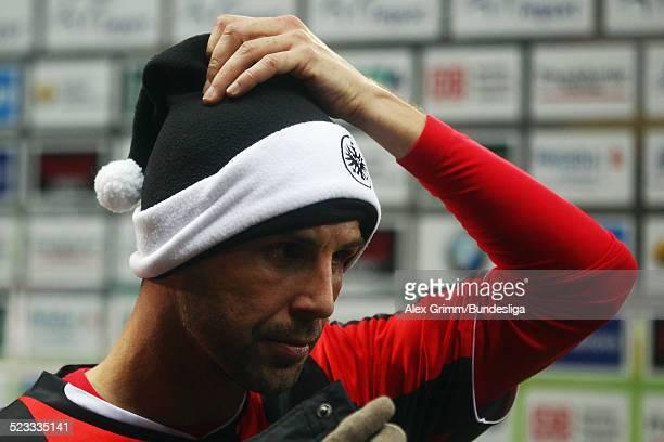 Benjamin Koehler nach dem Spiel der 2 Bundesliga zwischen Eintracht Frankfurt und SpVgg Greuther Fuerth in der CommerzbankArena am 12 Dezember 2011...