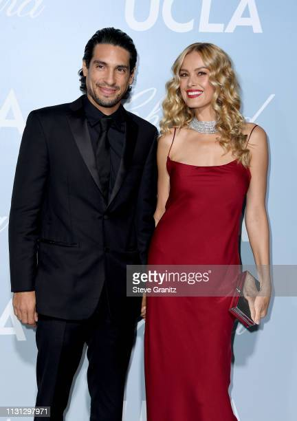 Benjamin Larretche and Petra Nemcova attends the 2019 Hollywood For Science Gala at Private Residence on February 21 2019 in Los Angeles California