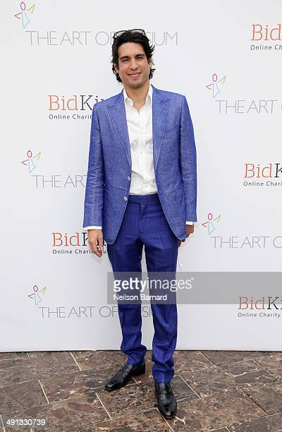 Benjamin Larretche attends the Art of Elysium's 6th Annual PARADIS presented by BidKind during the 67th Annual Cannes Film Festival at Villa St...