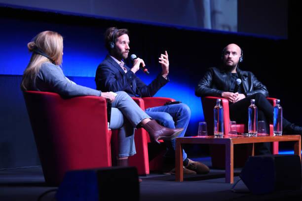 ITA: Le Discours (The Speech) Press Conference - 15th Rome Film Festival 2020