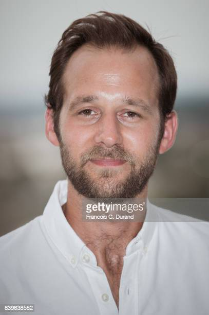 Benjamin Lavernhe attends the 10th Angouleme FrenchSpeaking Film Festival on August 26 2017 in Angouleme France