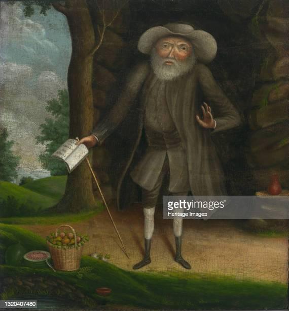 Benjamin Lay, circa 1750-1758. Artist William Williams.
