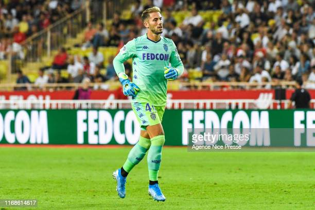Benjamin LECOMTE of Monaco during the Ligue 1 match between Monaco and Marseille at Stade Louis II on September 15 2019 in Monaco Monaco