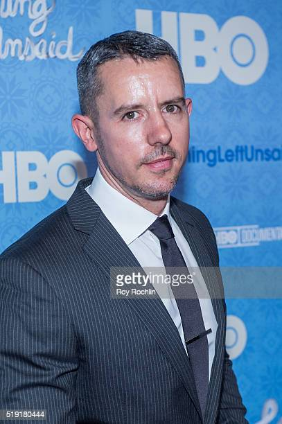 Benjamin Maisani attends Nothing Left Unsaid Premiere at Time Warner Center on April 4 2016 in New York City