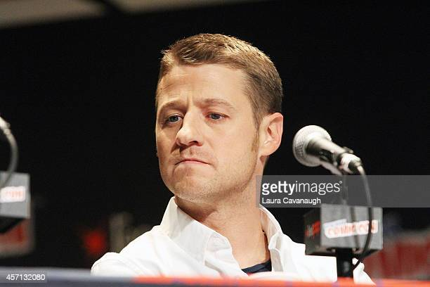 Benjamin McKenzie attends the 'Gotham' Panel at 2014 New York Comic Con Day 4 at Jacob Javitz Center on October 12 2014 in New York City