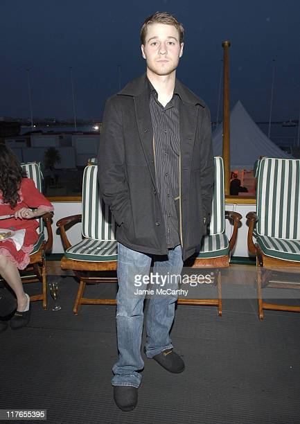 Benjamin McKenzie during 2005 Cannes Film Festival AnheuserBusch Hosts Factotum Party at AnheuserBusch Big Eagle Yacht in Cannes France