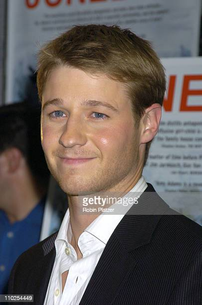 Benjamin McKenzie during 'Junebug' New York City Premiere Arrivals at The Loews 19th Street Theatre in New York New York United States