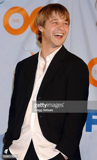 """Benjamin McKenzie during """"The O.C."""" Gets Key to Newport Beach at The Historic Balboa Pavilion in Newport Beach, California, United States."""
