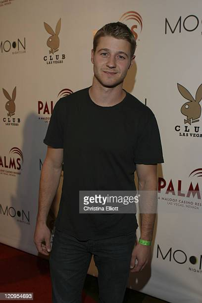 Benjamin McKenzie during The Playboy Club Vip Grand Opening at The Palms Hotel and Casino Arrivals at Palms in Las Vegas Nevada United States