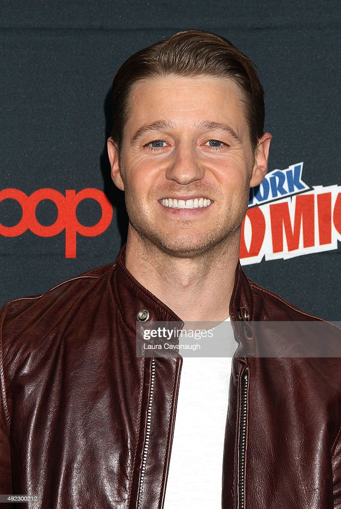 Benjamin McKenzie of 'Gotham' attends New York Comic Con 2015 - Day 4 at The Jacob K. Javits Convention Center on October 11, 2015 in New York City.