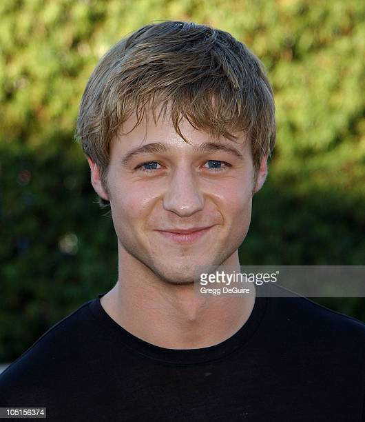 Benjamin McKenzie of The OC during 2003 Teen Choice Awards Arrivals at Universal Amphitheatre in Universal City California United States