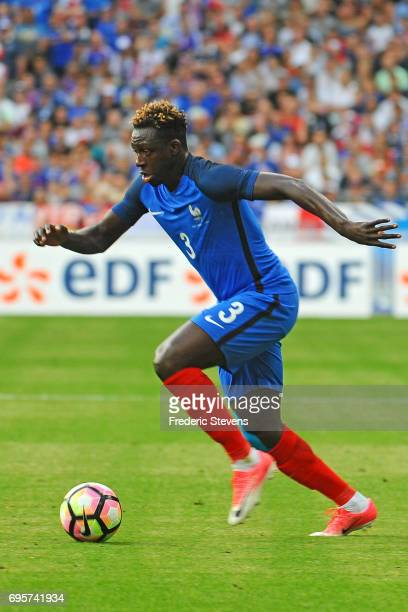 Benjamin Mendy defender of France Football team during the International friendly match between France and England held at Stade de France on Juin 13...