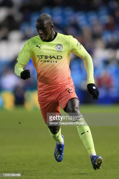 Benjamin Mendy of Man City in action during the FA Cup Fifth Round match between Sheffield Wednesday and Manchester City at Hillsborough on March 4...