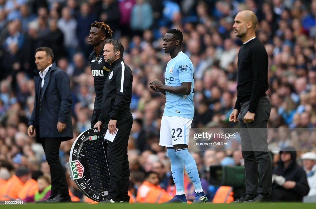 Manchester City v Swansea City - Premier League : News Photo