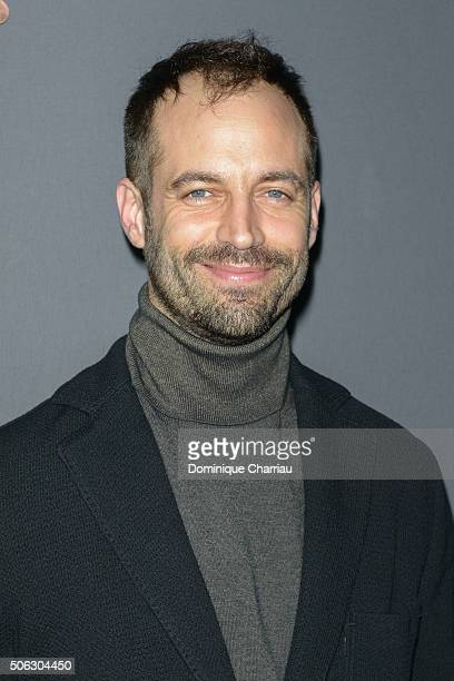 Benjamin Millepied attends the Berluti Menswear Fall/Winter 20162017 show as part of Paris Fashion Week on January 22 2016 in Paris France