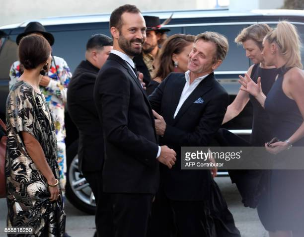 Benjamin Millepied Natalie Portman Mikhail Baryshnikov Lisa Rinehart and Rashida Jones arrive at the LADP annual gala and unveiling of new company...