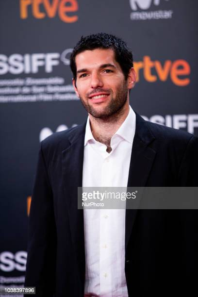 Benjamin Naishtat during the 'Rojo' Red Carpet at the 66th San Sebastian International Film Festival on September 23 2018 in San Sebastian Spain
