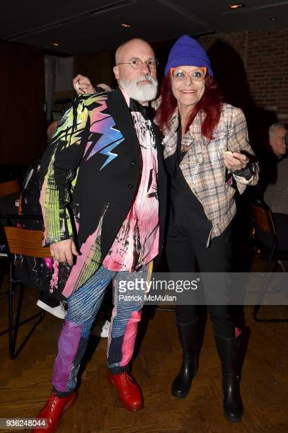 Benjamin NoriegaOrtiz and Patricia Fields attend Stephen Petronio Company 2018 Gala honoring Patricia Field and Sylvia Drulie Mazzola at Kola House...