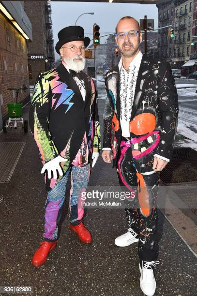 Benjamin NoriegaOrtiz and Stephen Wine attend the Stephen Petronio Company 2018 Gala honoring Patricia Field and Sylvia Drulie Mazzola at the Joyce...