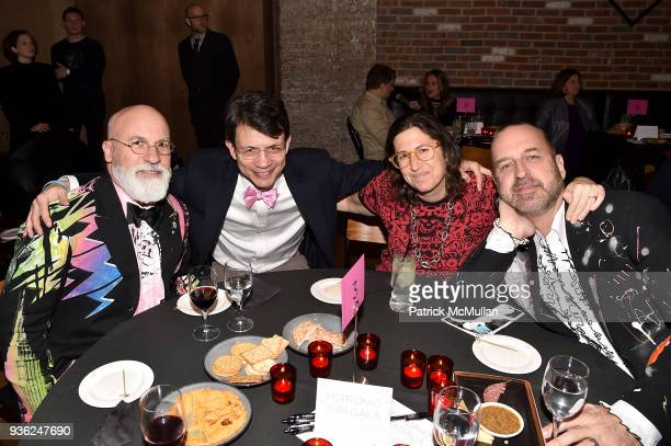 Benjamin NoriegaOrtiz David Caceres Carol Swedlow and Steven Wine attend Stephen Petronio Company 2018 Gala honoring Patricia Field and Sylvia Drulie...