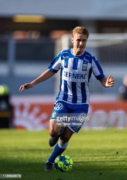 Benjamin Nygren of IFK Goteborg during the Allsvenskan match between IFK Goteborg and IF Elfsborg at Ullevi on April 7, 2019 in Gothenburg, Sweden.