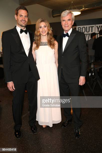 Benjamin Otto Member of Board of Management Otto Group and his wife Janina Otto and his father Dr Michael Otto CEO Otto Group during the 2nd ABOUT...