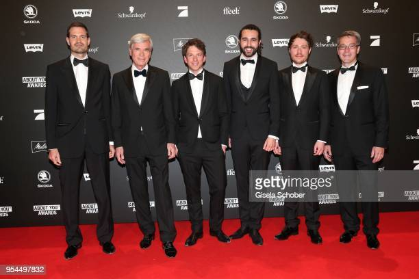 Benjamin Otto Member of Board of Management Otto Group Dr Michael Otto CEO Otto Group Hannes Wiese Tarek Mueller and Sebastian Betz CoFounder and...
