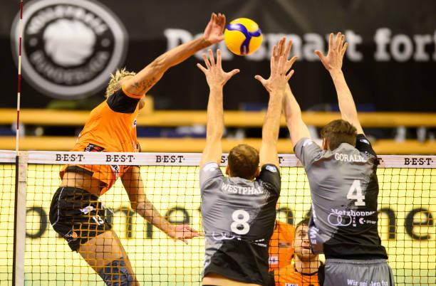 DEU: DVV Pokal - BR Volleys v Netzhoppers KW
