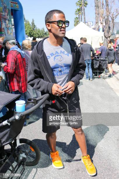 Benjamin Patterson is seen on March 24 2019 in Los Angeles California