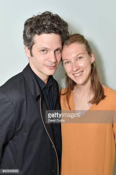 Benjamin Paulin and Alice Lemoine attend Ralph Pucci Presents Pierre Paulin and James HD Brown on April 5 2018 in Los Angeles California