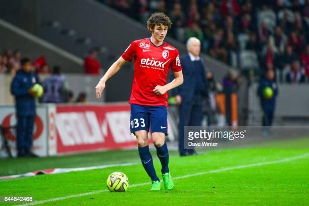 Benjamin PAVARD Lille / Lens 35eme journee de Ligue 1 Photo Dave Winter / Icon Sport
