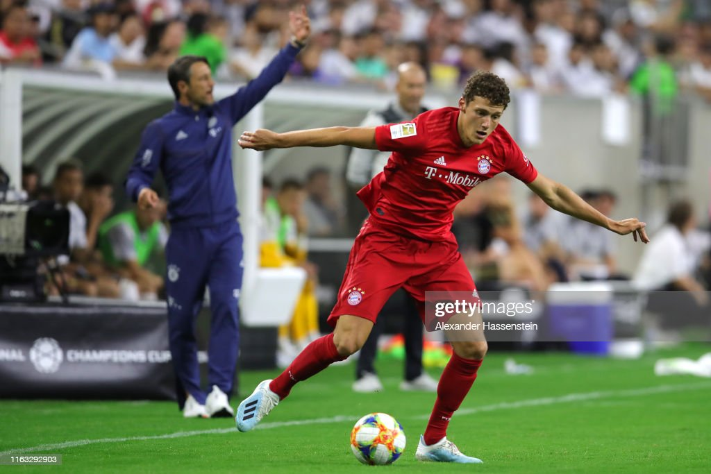 Image result for benjamin pavard real madrid icc 2019