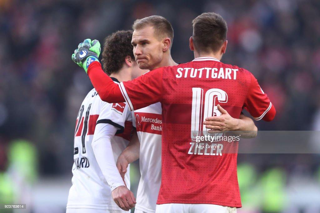 VfB Stuttgart v Eintracht Frankfurt - Bundesliga : News Photo