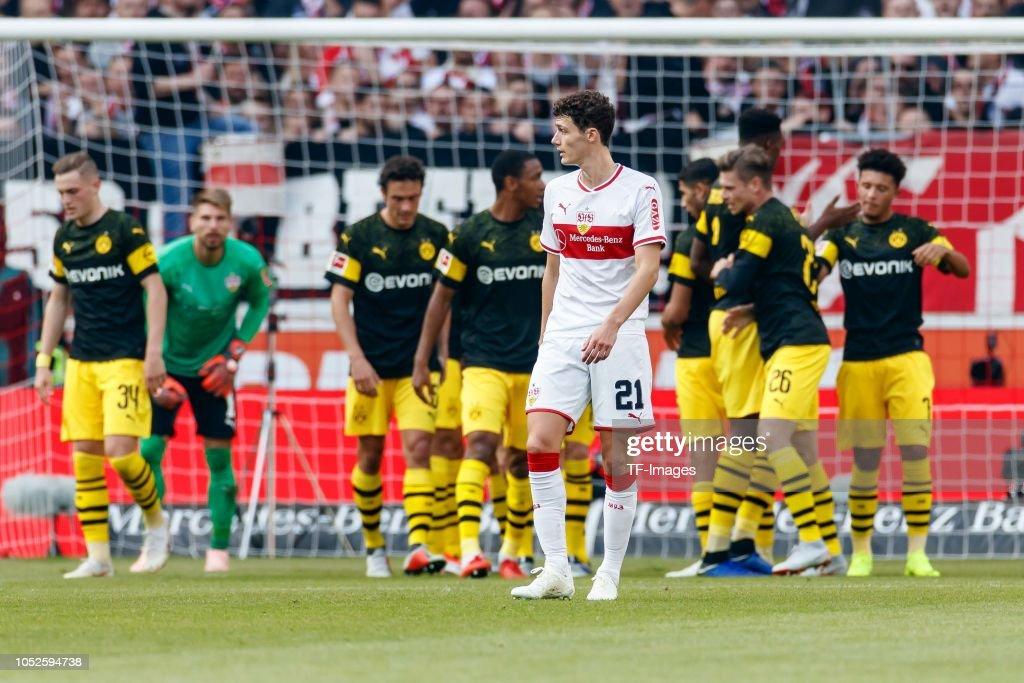 VfB Stuttgart v Borussia Dortmund - Bundesliga : News Photo