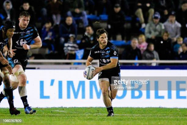 Benjamin Prier of Massy during the Pro D2 match between Massy and Oyonnax on November 9 2018 in Massy France