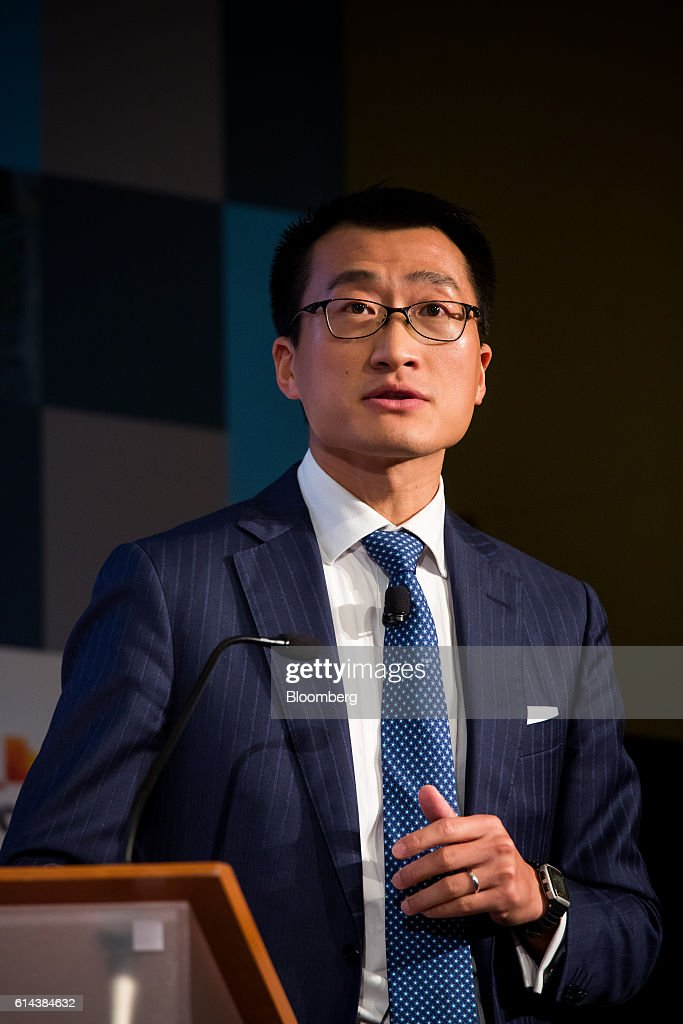 Benjamin Qiu, partner at Loeb & Loeb LLP, speaks during The Economist's Finance Disrupted conference in New York, U.S., on Thursday, Oct. 13, 2016. The conference will explore what the digital revolution means for finance and the broader economy. Photographer: Michael Nagle/Bloomberg via Getty Images