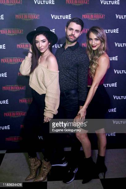 Benjamin Rivera and Amber Ardolino attend the Vulture And Moulin Rouge The Musical Present A Spectacular Spectacular Moulin Rouge The Musical Album...