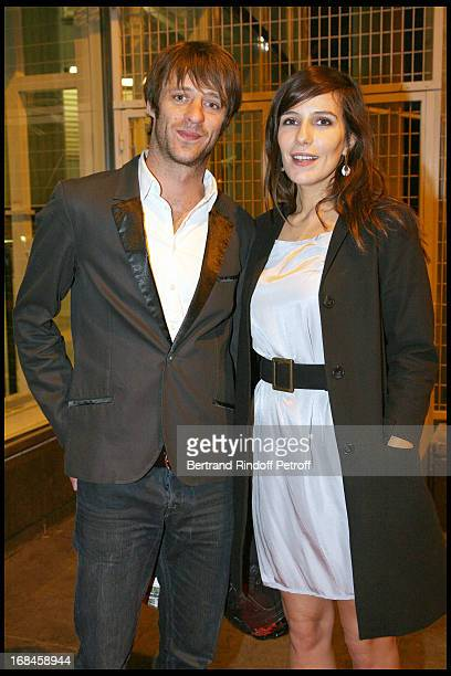 Benjamin Rolland and Zoe Felix at 2nd International Encounters Of Cinema Verite A Opera Bastille