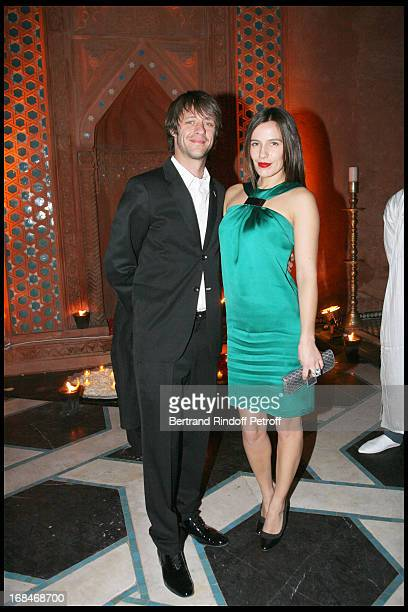 Benjamin Rolland and Zoe Felix at Dior Party For Marrakech Movie Festival Jury Members At Soleiman Palace